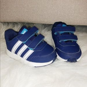 Toddler Navy Blue Adidas Shoes